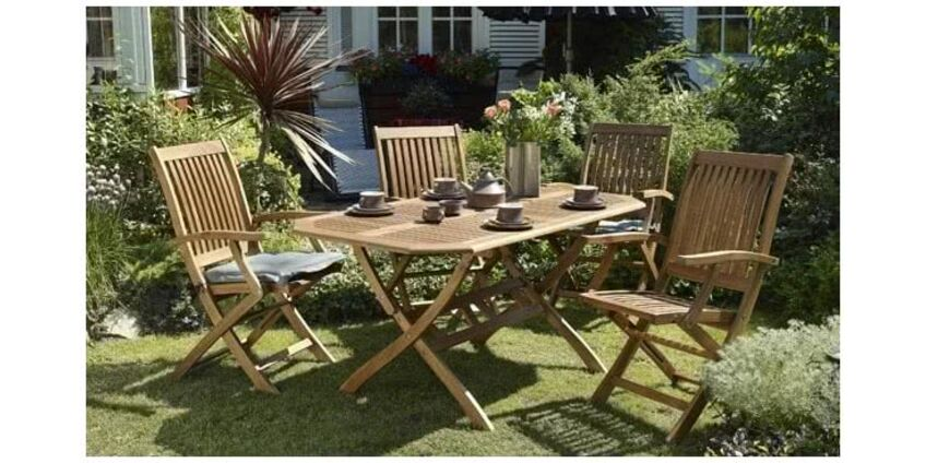 Как выбрать лучший комплект садовой мебели?