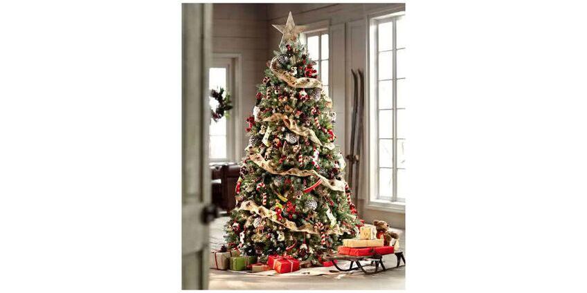 Красивая новогодняя елка - идеальное праздничное украшение вашего дома
