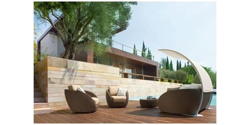 Современные тенденции стиля садовой мебели