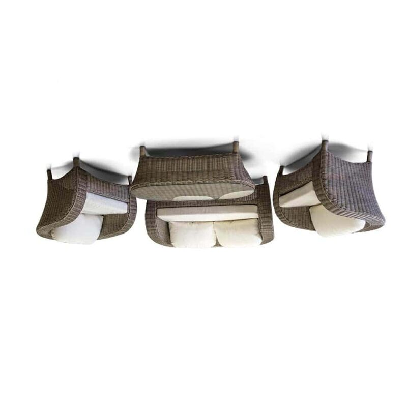 Диван Римини из искусственного ротанга (4sis) Фото 2