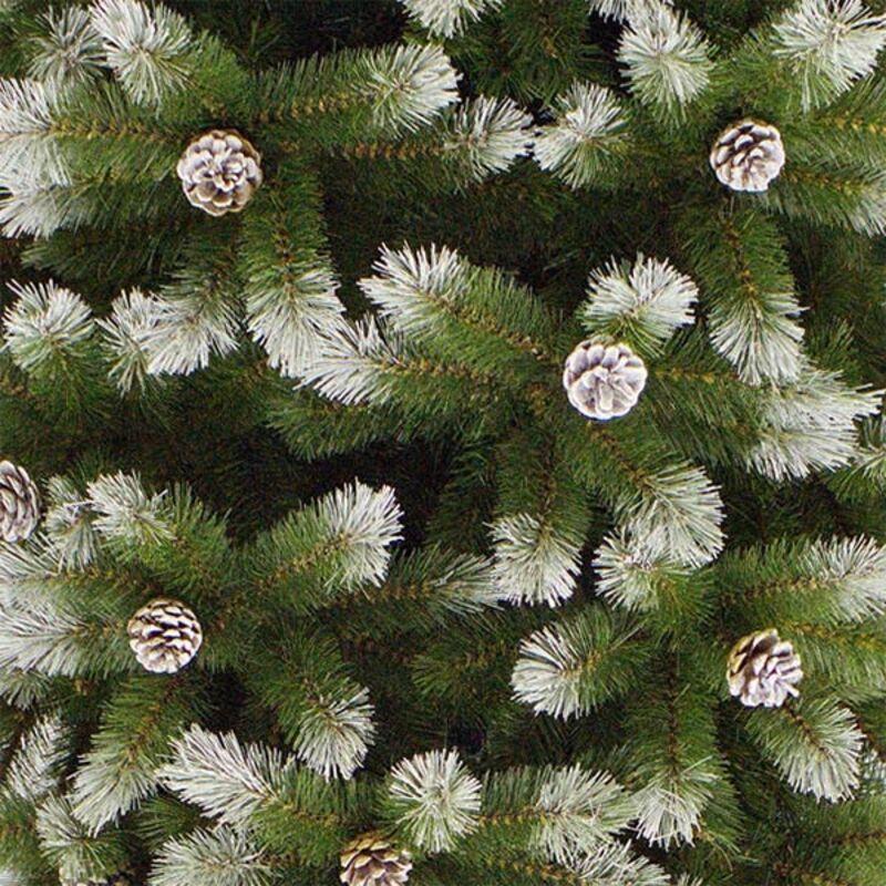 Искусственная Елка Triumph Tree Женева заснеженная с шишками 230 см 73122 Фото 2