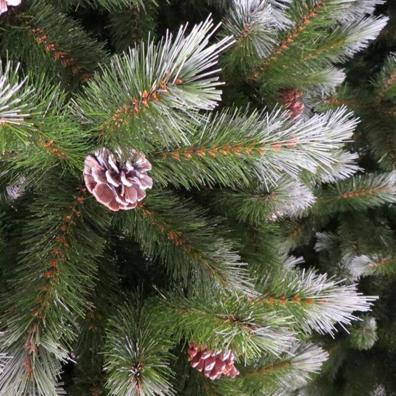Искусственная Елка Triumph Tree Женева заснеженная с шишками 230 см 73122 Фото 3