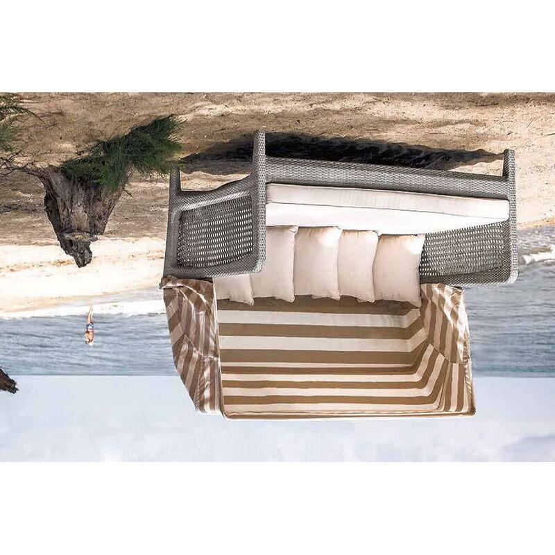 Кровать Лабро для отдыха из искусственного ротанга (4sis) Фото 2
