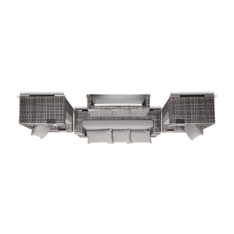 Диван Тито из искусственного ротанга (4sis) Фото 2