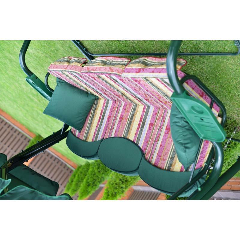 Садовые качели Мастак зеленые Фото 2