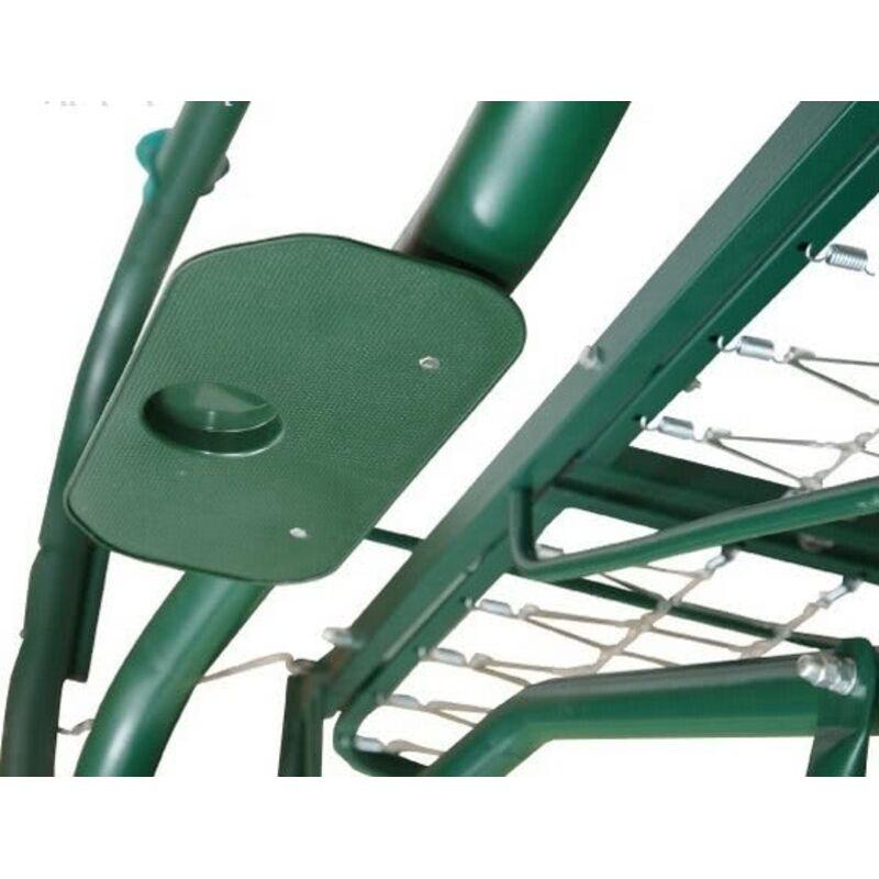 Садовые качели Титан зеленые Фото 13
