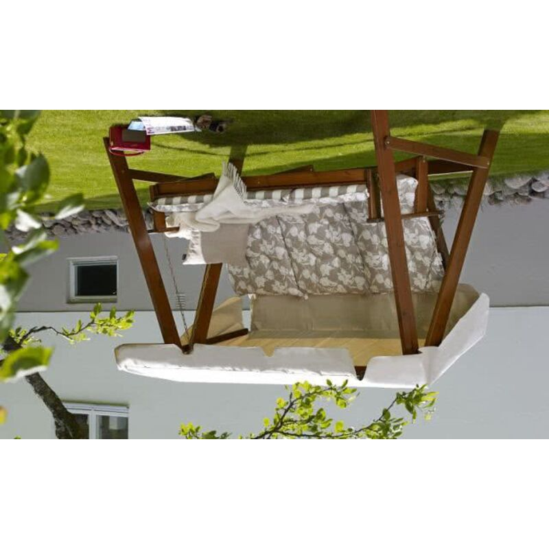 Деревянные садовые качели KORNHULT Фото 5
