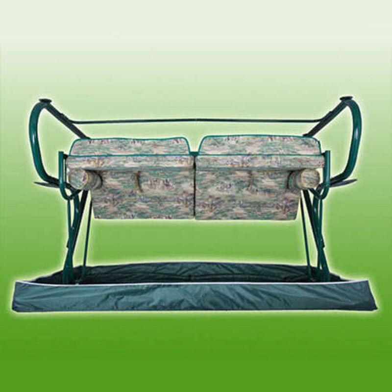Чехол для садовых качелей Титан зеленые Фото 6