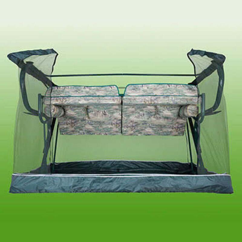 Москитная сетка для садовых качелей Титан зеленые Фото 2
