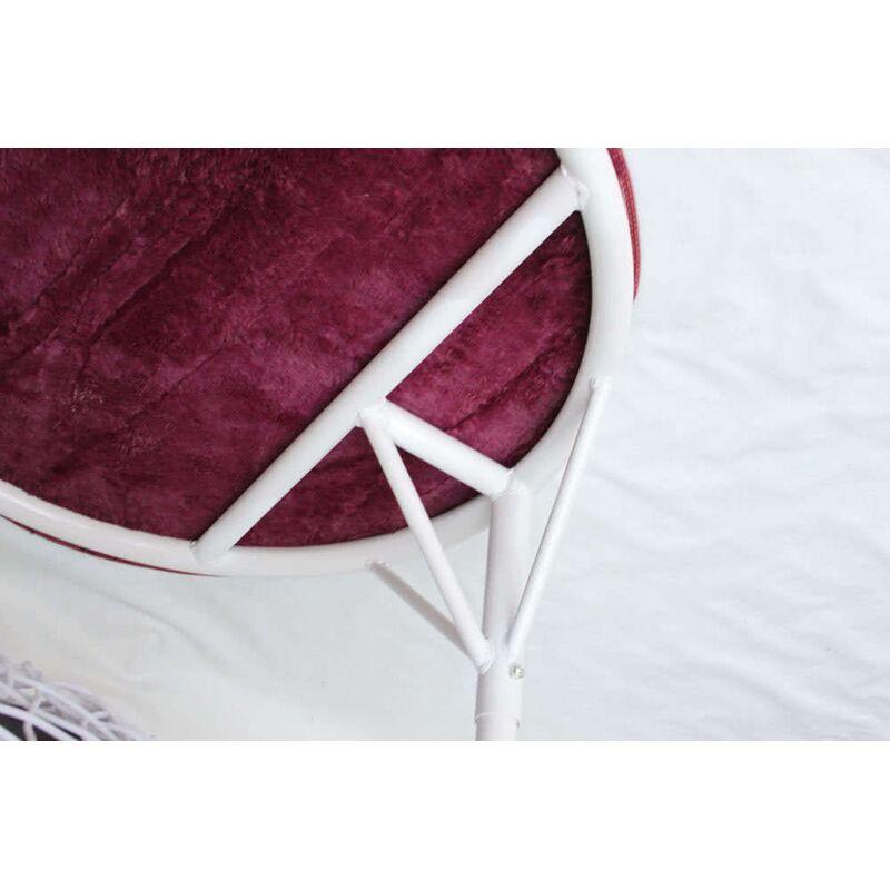 Плетеное подвесное кресло KM 0031 Фото 12