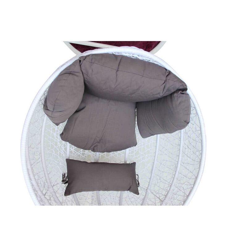 Плетеное подвесное кресло KM 0031 Фото 3