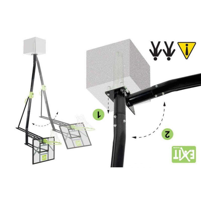 Неподвижая баскетбольная система Exit Galaxy Фото 4