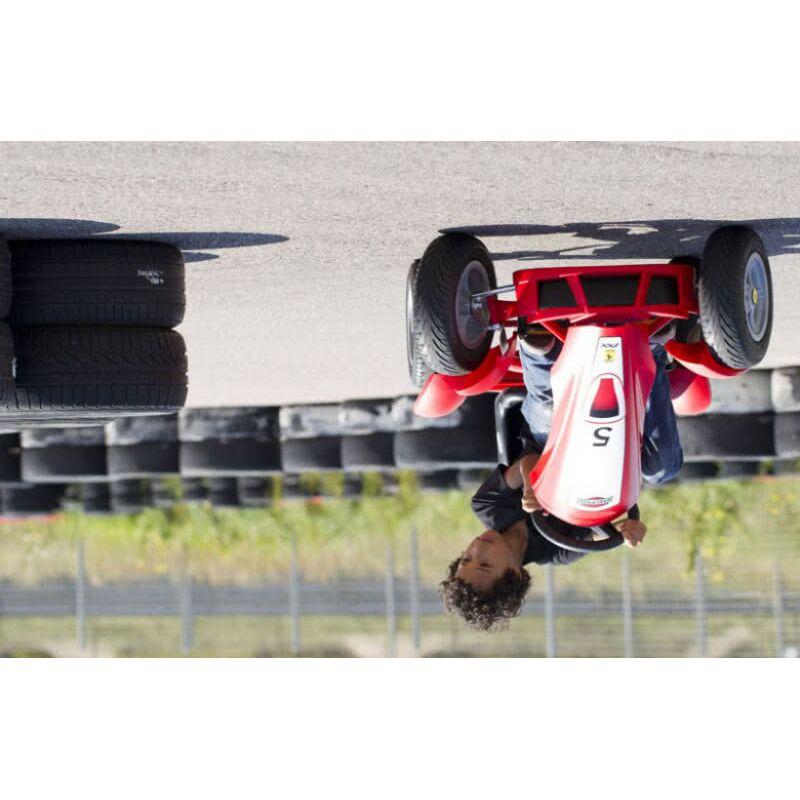 Веломобиль Berg Ferrari 150 Italia 24.23.00.01 Фото 5