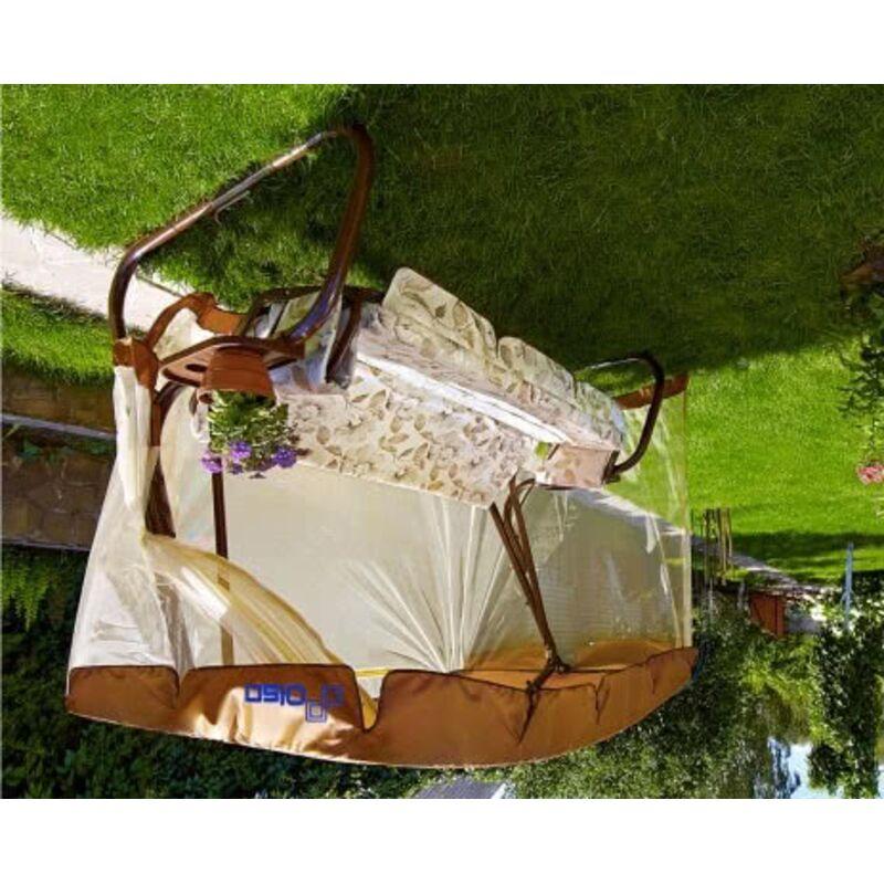 Садовые качели Турин шоколад (арт. с677) Фото 2