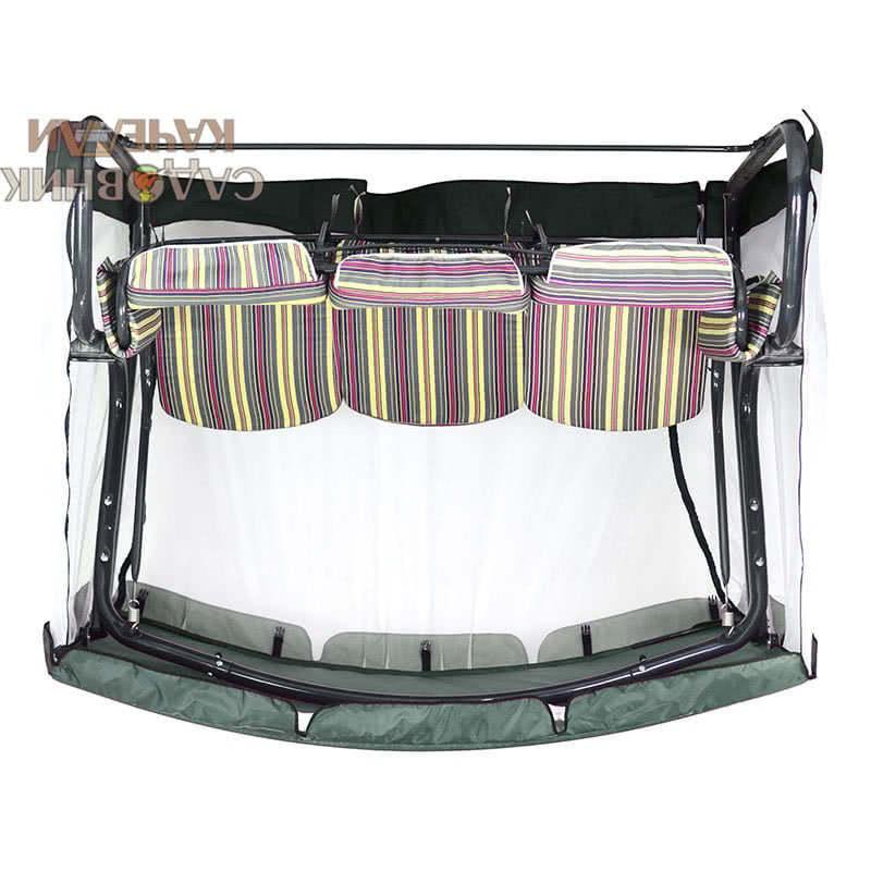 Тент с москитной сеткой для качелей Милан премиум Фото 2
