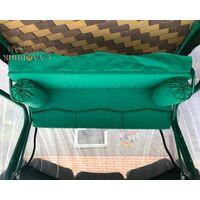 Матрас Волна зеленый с валиками 200 см