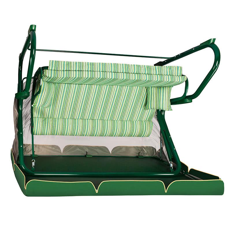 Садовые качели Редфорд 501 зеленые Фото 4