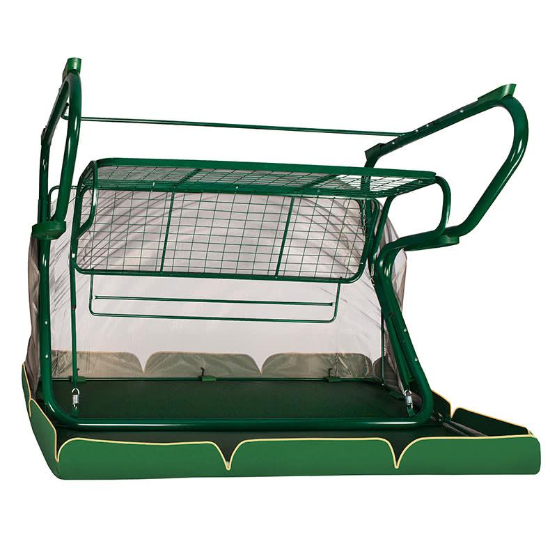 Садовые качели Редфорд 501 зеленые Фото 5