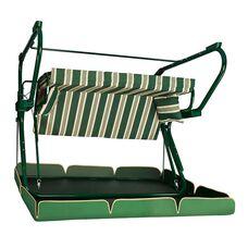 Садовые качели Редфорд 591 зеленые