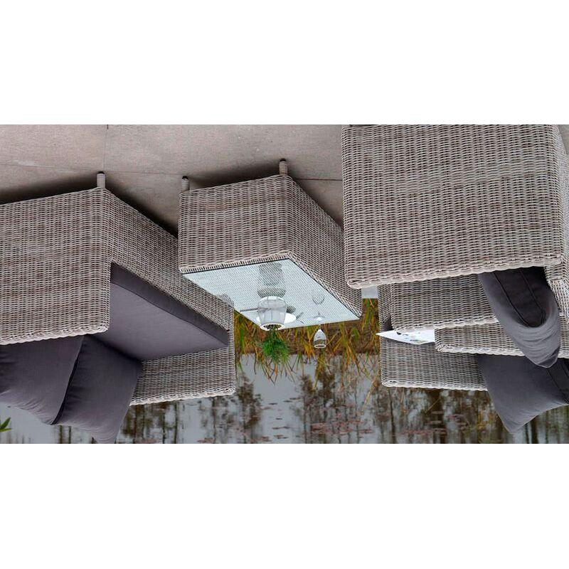 Комплект Макиато Бьянко из искусственного ротанга Фото 4