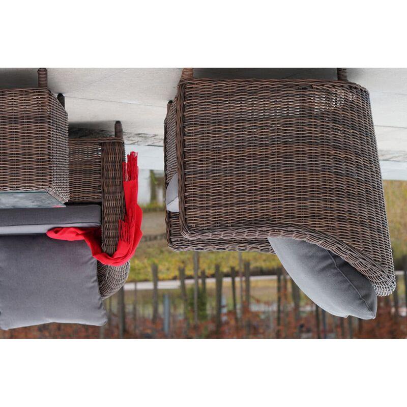 Кресло Кон Панна из искусственного ротанга Фото 4