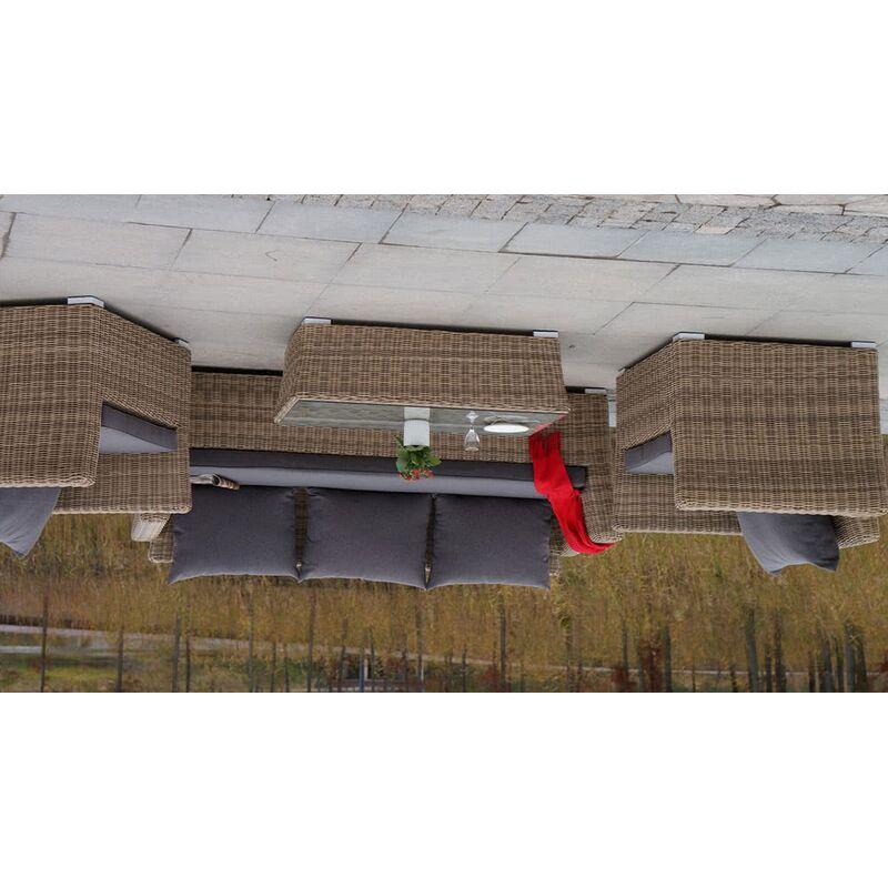 Комплект Капучино из искусственного ротанга Фото 6