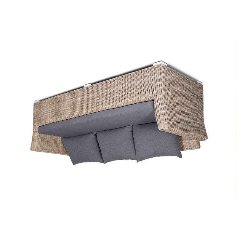 Трехместный диван Капучино из ротанга Фото 2