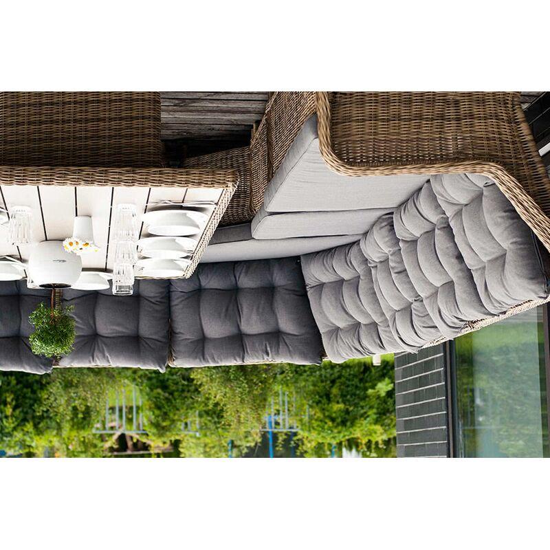 Диван Бергамо из искусственного ротанга Фото 2