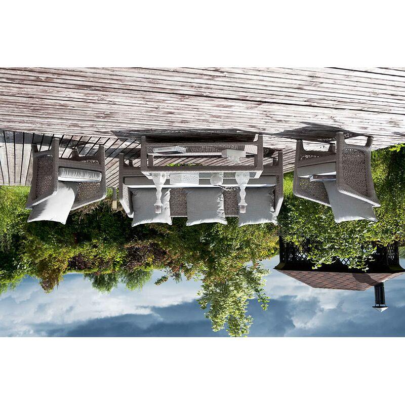 Комплект Лабро из искусственного ротанга Фото 3