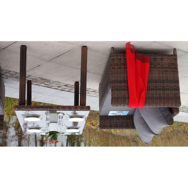 Обеденный комплект Макиато из ротанга Фото 6