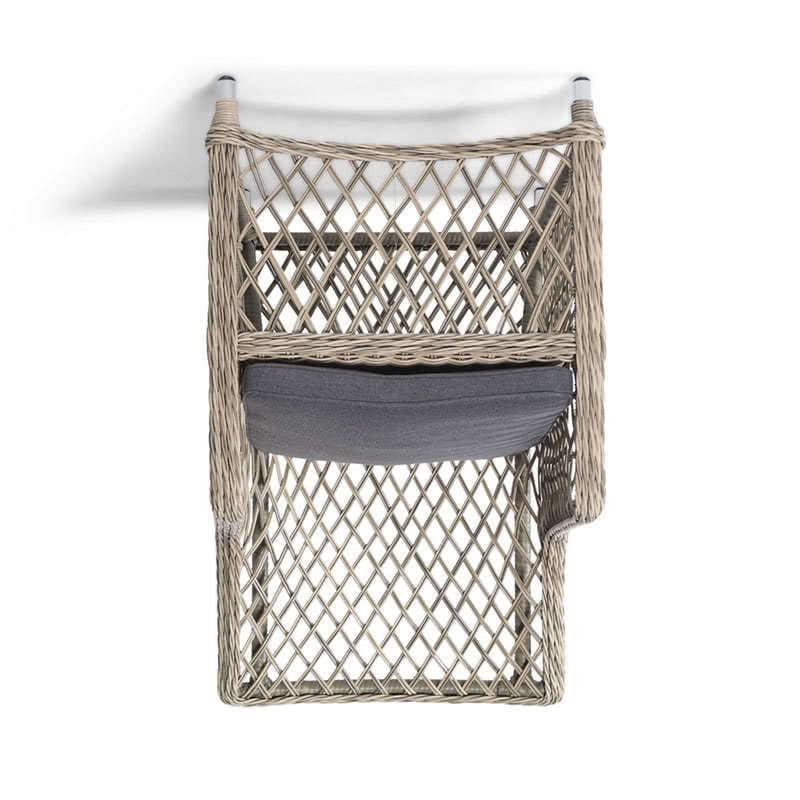 Кресло Латте из искусственного ротанга Фото 2