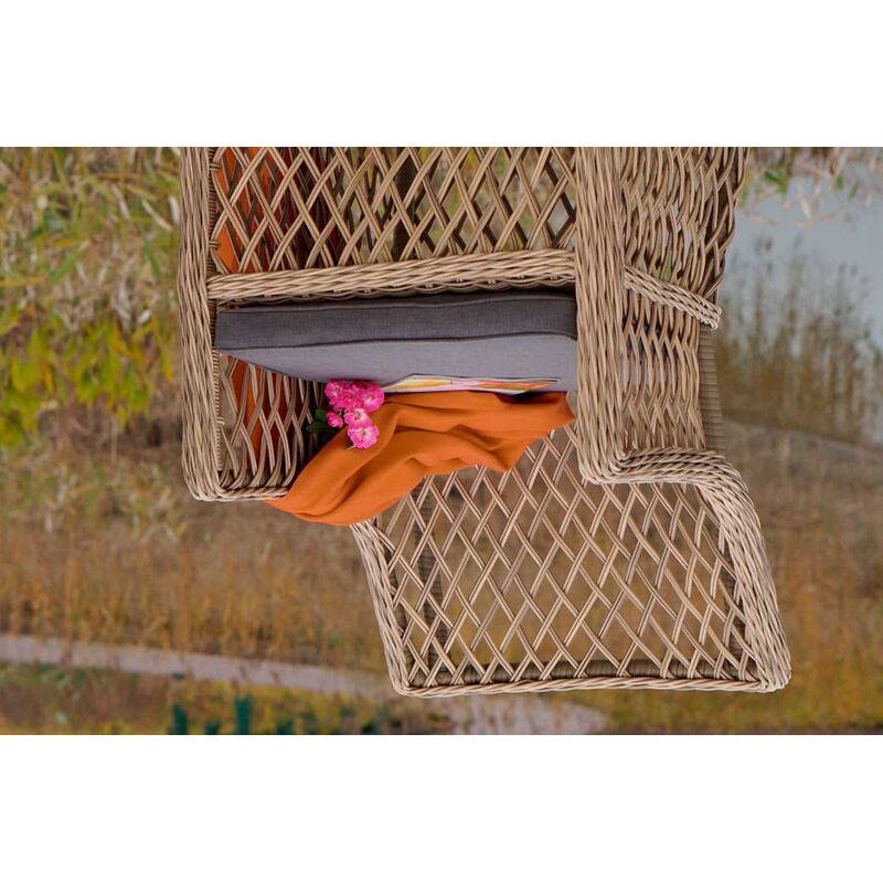 Кресло Латте из искусственного ротанга Фото 3