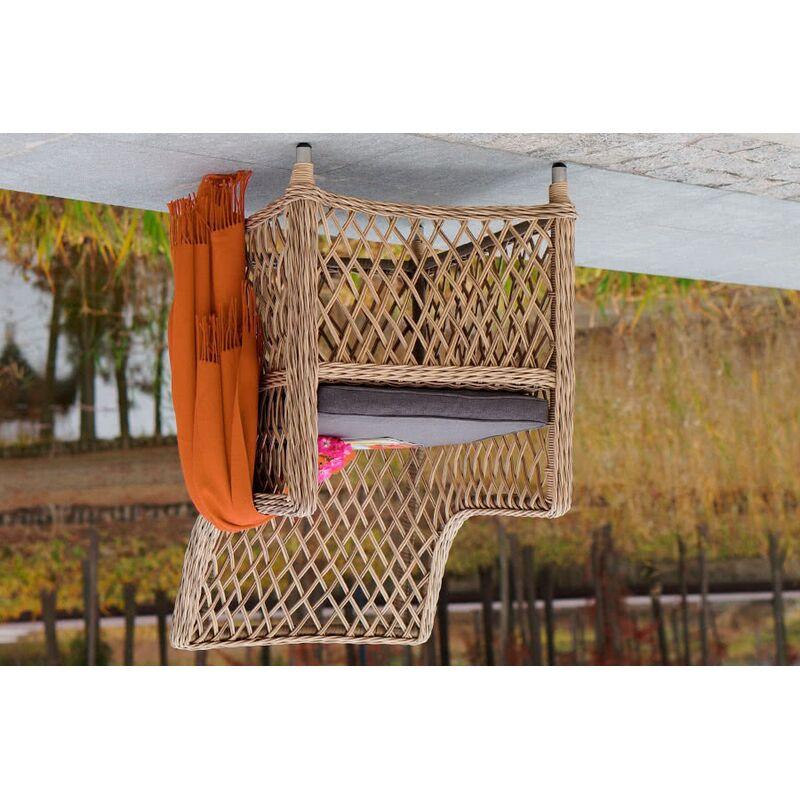 Кресло Латте из искусственного ротанга Фото 4