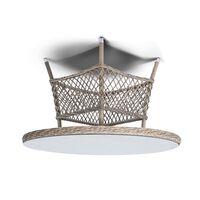 Обеденный стол Эспрессо из ротанга
