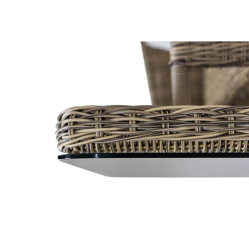 Стол Венето из искусственного ротанга Фото 3