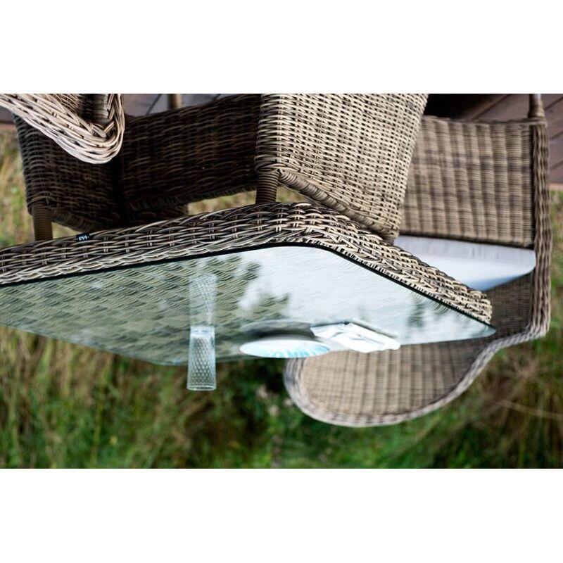 Стол Венето из искусственного ротанга Фото 5