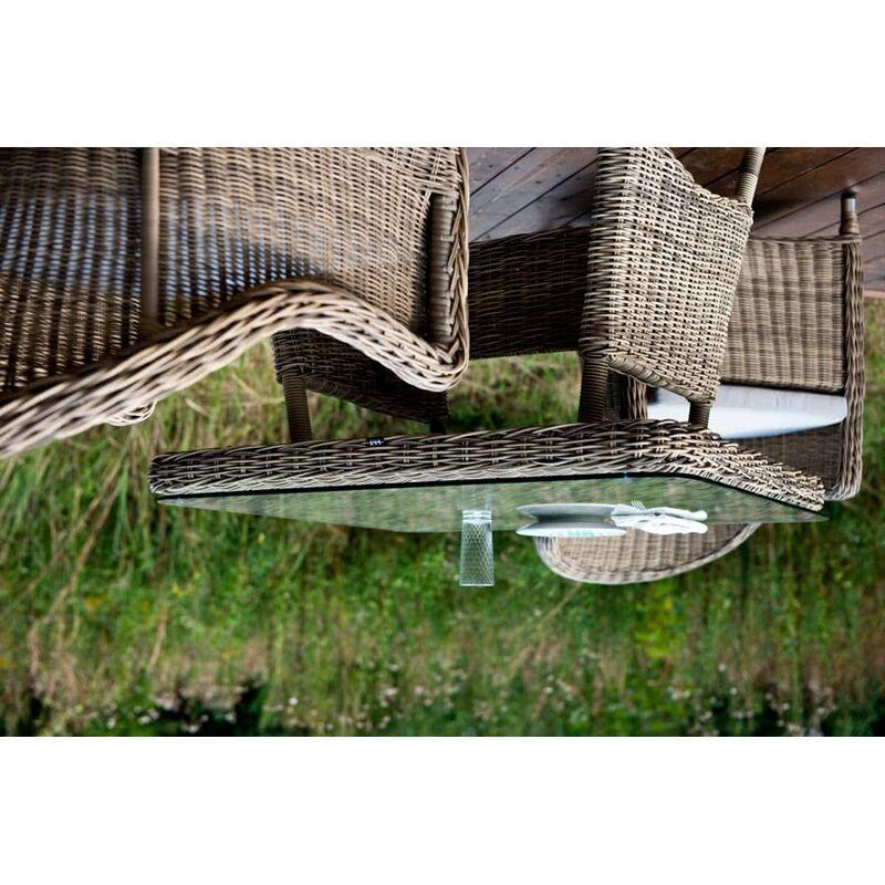 Стол Венето из искусственного ротанга Фото 6