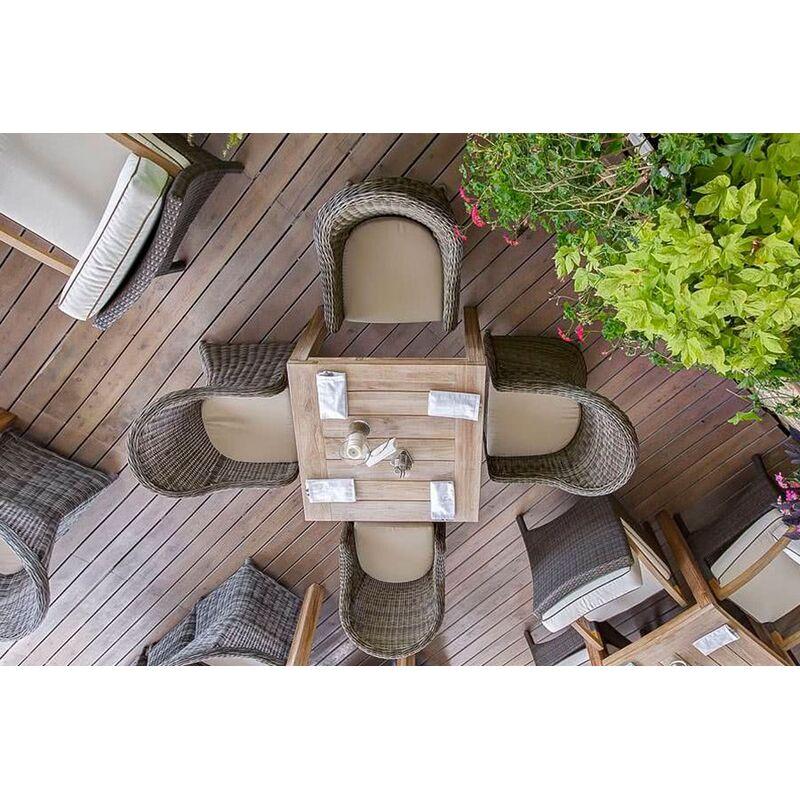 Стол Виченца из тика Фото 10