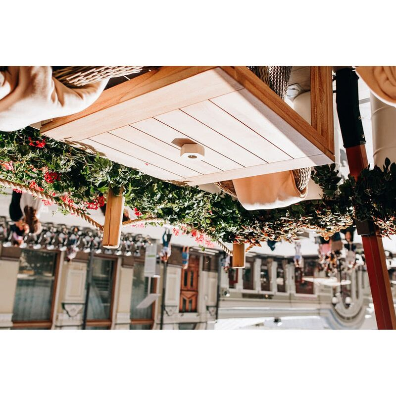 Стол Виченца из тика Фото 7