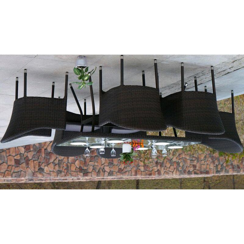 Стул-кресло Фраппе из искусственного ротанга Фото 3