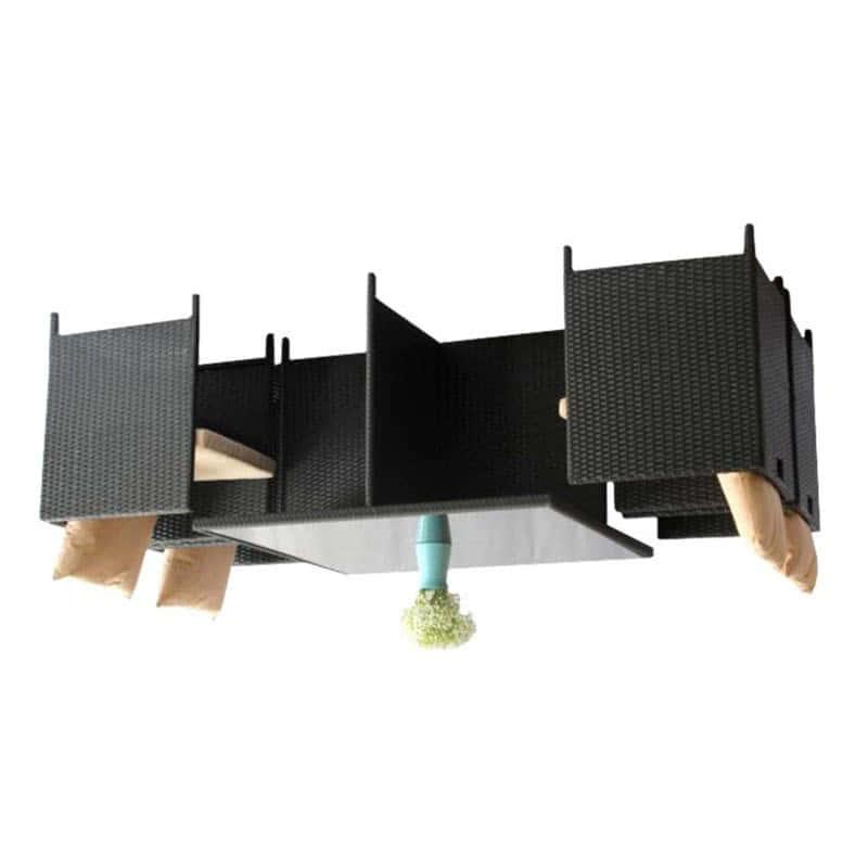 Комплект обеденный Cube из ротанга Фото 2