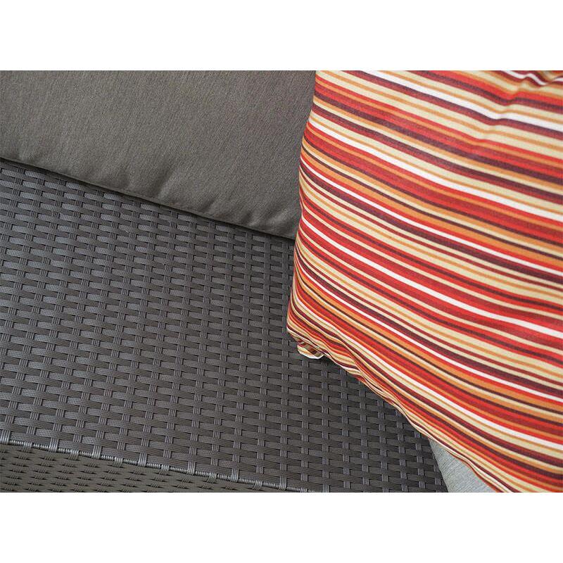 Лаунж зона Мерибель серая (+2 кресла) Фото 3