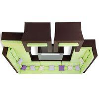 Лаунж зона Мерибель шоколад (+2 кресла)