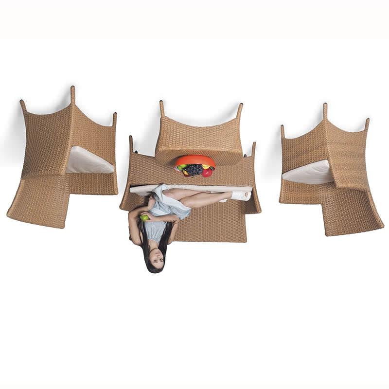 Комплект мебели для отдыха Капри песочный Фото 2