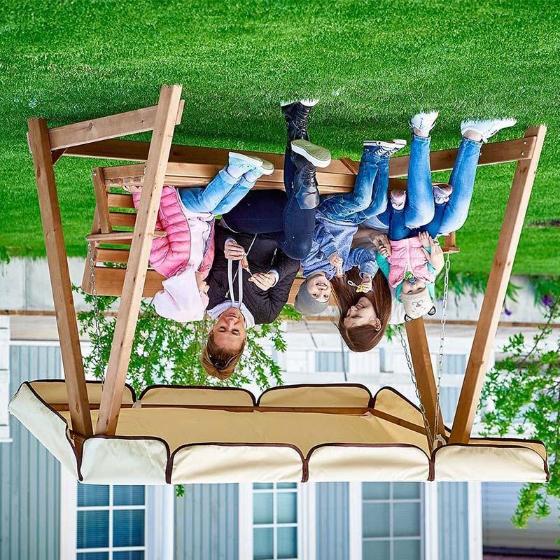 Садовые качели Селена Орегон Фото 2