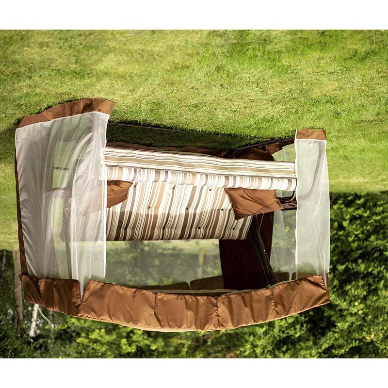 Садовые качели САВАННА шоколад (арт. с1004) Фото 3