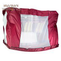 Тент-шатер с москитной сеткой Палермо Премиум бордовый