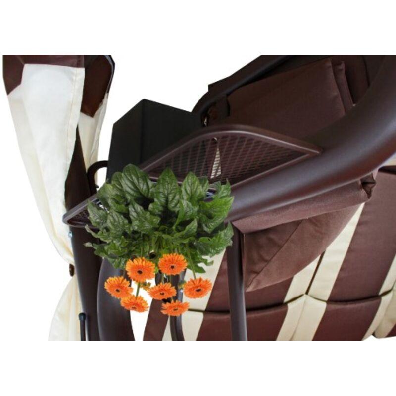 Садовые качели ЭДЕМ ЛЮКС 76 шоколад Фото 8