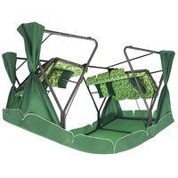 Садовые качели ТЕТ-А-ТЕТ 40 мм зеленые